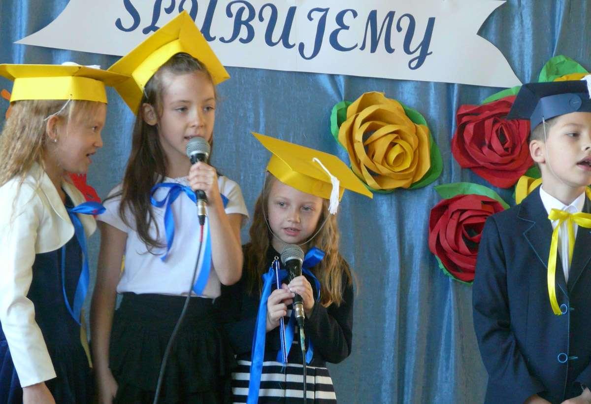 Pasowanie na ucznia w PKZSiP im. AK w Niecieczy 2019