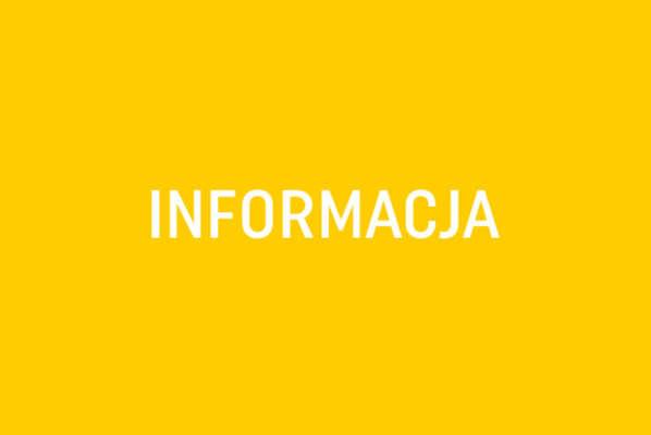 Informacja !