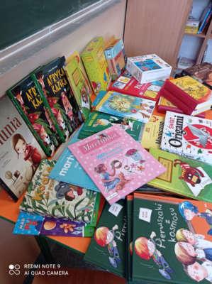 Nowości  w szkolnej bibliotece