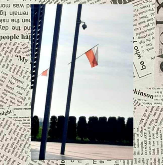 """""""Zdjęcie z flagą w tle"""" 3 Maja -świętowanie inaczej"""